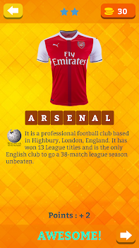 Guess the football shirt quiz 2018 all clubs by code guess the football shirt quiz 2018 all clubs by code drizzlers trivia games category 392 reviews appgrooves best apps fandeluxe Gallery