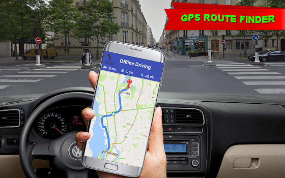 Offline GPS Navigation Maps & Tracking Drive Route