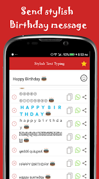 Stylish Text Typing With Emoji Keyboard