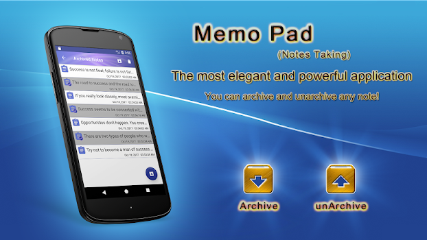 Memo Pad (Notes Taking)