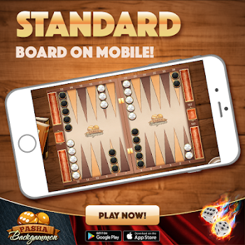 Backgammon Pasha: Free online dice and table game!