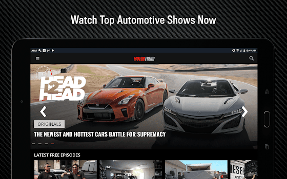 Motor Trend Stream Hot Car Shows By TEN The Enthusiast Network - Car show website reviews