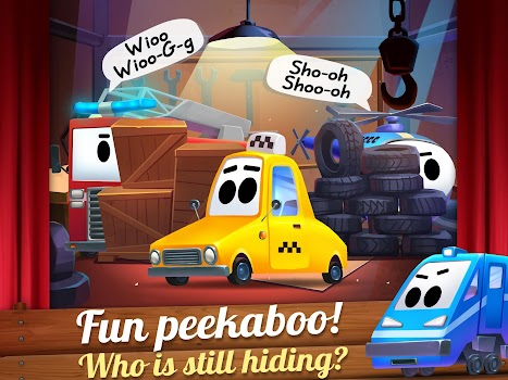 Kids Theater Cars Show Beep Peekaboo By RetroStyle Games - Car show games