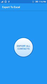 Import Export Contacts Excel