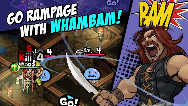 WhamBam Warriors - Puzzle RPG