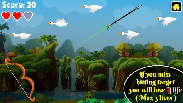 Duck Hunting : King of Archery Hunting Games