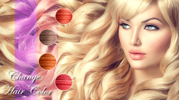 Hair Style Color Changer Real By Rii App Photography Category - Hairstyle color app