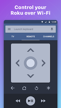 Remote for Roku TV - RoByte - Control