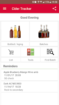 cider wine tracker home brew by the modern pen and paper