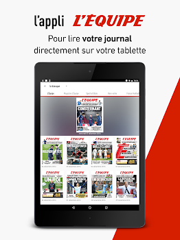 L'Équipe - Sport en direct : foot, tennis, rugby..