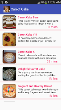 Carrot cake recipe free daucus carota recipe app by amin and co carrot cake recipe free daucus carota recipe app forumfinder Gallery