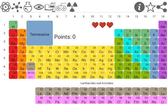 Periodic table pro by szymon wjtowicz artmetic education periodic table pro periodic table pro urtaz Choice Image