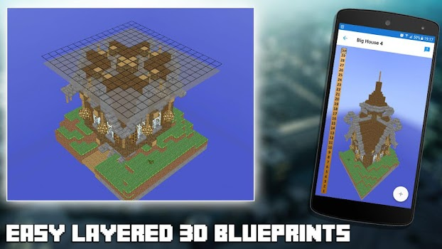 3d blueprints for minecraft by lyxoto studios entertainment 3d blueprints for minecraft malvernweather Choice Image