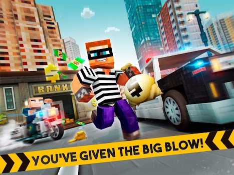 🚔 Robber Race Escape 🚔 Police Car Gangster Chase