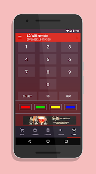 Smart TV Remote for LG SmartTV