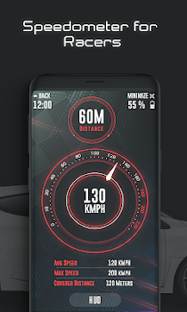 GPS Speedometer: Car Heads up Display for Racers