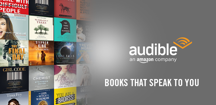 Best 10 ebook apps appgrooves discover best iphone android apps audiobooks from audible fandeluxe Choice Image