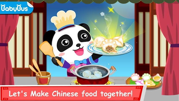 Panda chef chinese recipes cooking game for kids by babybus kids panda chef chinese recipes cooking game for kids forumfinder Gallery