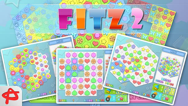 Fitz 2: Magic Match 3 Puzzle