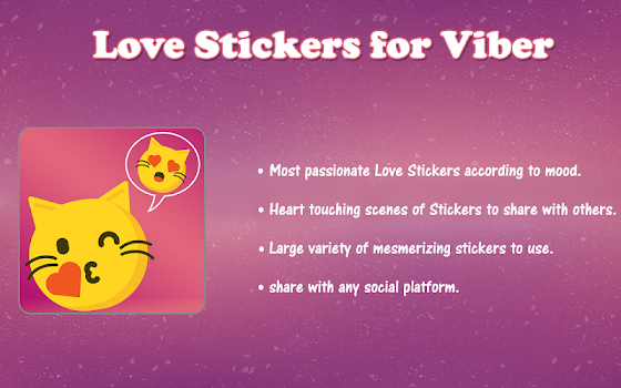 Love Stickers for Viber