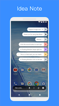 Idea Note - Floating Note, Voice Note, Voice Memo