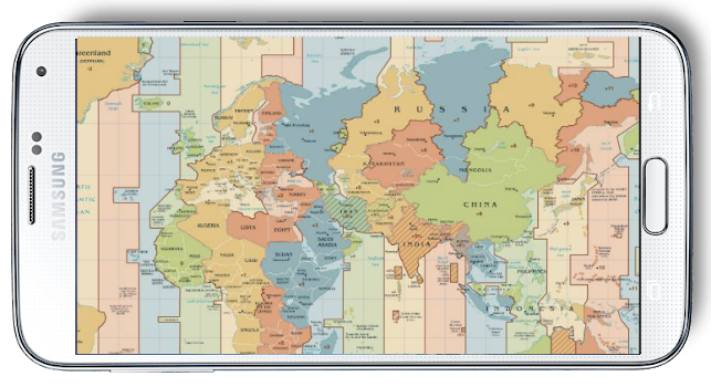 World map time zone by gagnamstyle travel local category world map time zone by gagnamstyle travel local category 15 reviews appgrooves best apps sciox Choice Image