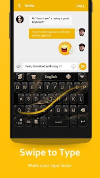 GO Keyboard - Cute Emojis, Themes and GIFs