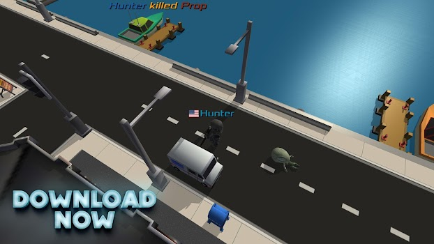 Prop Hunt: MMO Online Multiplayer Shooting Game