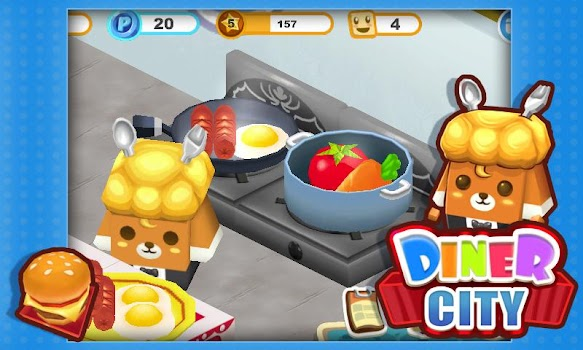 Diner City - Craft your dish