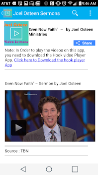 Joel Osteen Sermon of the Day - by Christian Applications