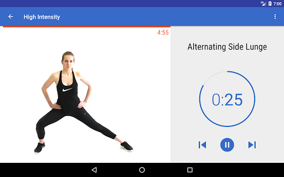 HIIT & Cardio Workout by Fitify