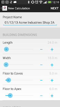 powrmatic heat load calculator by morphsites tools category