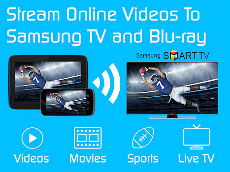 Video & TV Cast + Samsung TV | HD Movie Streaming