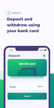 EO.Finance: Buy and Sell Bitcoin. Crypto Wallet