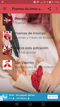 Poemas De Amor Y Amistad By New Generation Apps Android