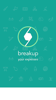 Break It Up : expense manager