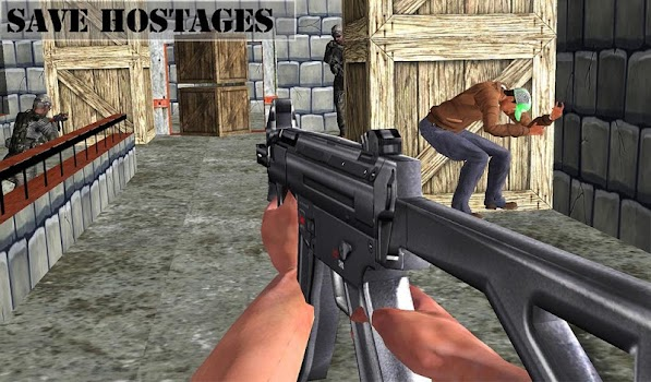 Anti Terrorist SWAT Force 3D FPS Shooting Games