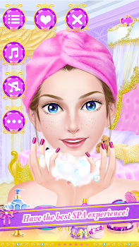 Princess Makeover: Beauty Spa