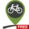 Bike routes, cycling trails