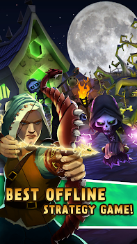 Skull Tower Defense: Epic Strategy Offline Games