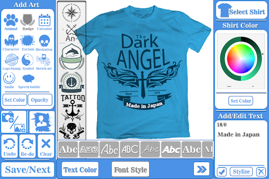T-shirt design maker - by Skysol apps - Photography Category - 1,795 ...