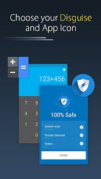 Calc Vault-Photo,video locker,Safe Browser,Applock