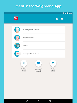 Best 10 prescription drug discount apps appgrooves prescriptions coupons photos and shopping its all in the walgreens app fandeluxe Image collections