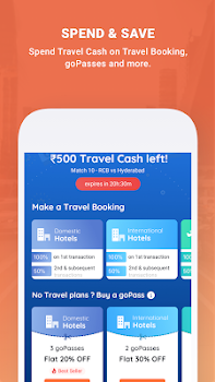 Goibibo - Flight Hotel Bus Car Train IRCTC Booking