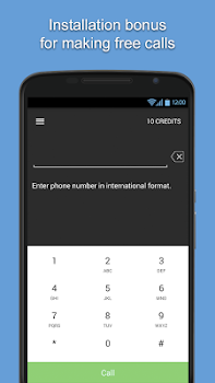 iEvaphone: Free international calls to mobile