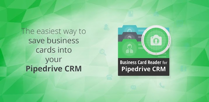 Business card reader for pipedrive crm by magneticone mobile app features colourmoves