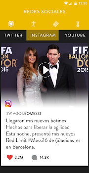 Messi Official App