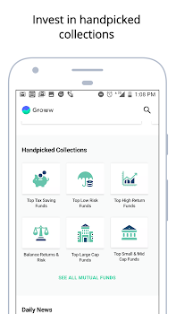 Mutual Fund App, Free Direct Funds - Groww