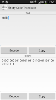 Translate text to binary code and decode binary code Easy online binary ascii converter web tool