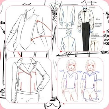 drawing clothes tutorial by dzakira education category 21